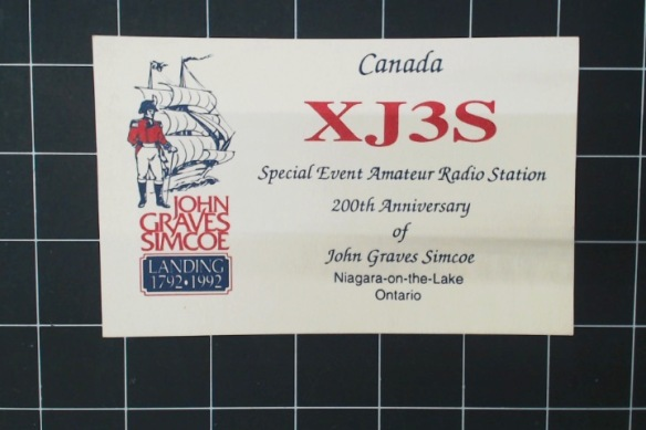 A special-event station to commemorate the founder of Toronto