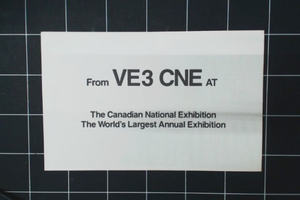Temporary station at The Ex, the Canadian World's Fair